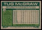 1977 Topps #164  Tug McGraw  Back Thumbnail