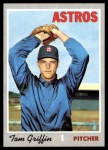 1970 Topps #578  Tom Griffin  Front Thumbnail
