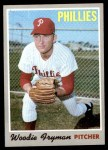 1970 Topps #677  Woody Fryman  Front Thumbnail
