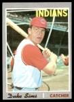 1970 Topps #275  Duke Sims  Front Thumbnail