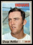 1970 Topps #491  Graig Nettles  Front Thumbnail