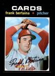 1971 Topps #422  Frank Bertaina  Front Thumbnail