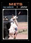 1971 Topps #406  Ray Sadecki  Front Thumbnail