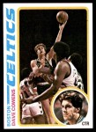 1978 Topps #40  Dave Cowens  Front Thumbnail