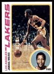 1978 Topps #3  Jamaal Wilkes  Front Thumbnail