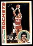 1978 Topps #58  Rudy Tomjanovich  Front Thumbnail