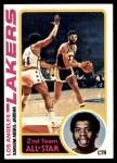 1978 Topps #110  Kareem Abdul-Jabbar  Front Thumbnail
