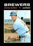 1971 Topps #281  Danny Walton  Front Thumbnail