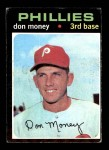 1971 Topps #49  Don Money  Front Thumbnail