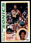 1978 Topps #94  Paul Silas  Front Thumbnail