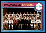 1979 Topps #260   Capitals Team Checklist Front Thumbnail
