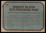 1979 Topps #163   -  Ulf Nilsson Record Breaker - Highest Scoring Percentage - Season Back Thumbnail