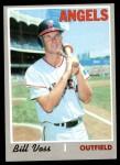 1970 Topps #326  Bill Voss  Front Thumbnail