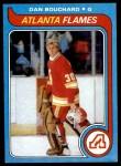 1979 Topps #28  Dan Bouchard  Front Thumbnail