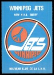1979 O-Pee-Chee #81   Jets Checklist Front Thumbnail