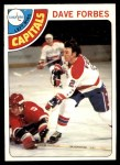 1978 O-Pee-Chee #167  Dave Forbes  Front Thumbnail