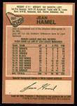 1978 O-Pee-Chee #281  Jean Hamel  Back Thumbnail