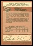 1978 O-Pee-Chee #39  Robert Picard  Back Thumbnail