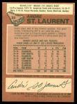 1978 O-Pee-Chee #32  Andre St. Laurent  Back Thumbnail