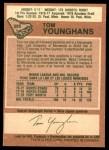 1978 O-Pee-Chee #295  Tom Younghans  Back Thumbnail