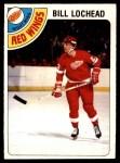 1978 O-Pee-Chee #122  Billy Lochead  Front Thumbnail