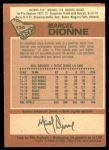 1978 O-Pee-Chee #120  Marcel Dionne  Back Thumbnail