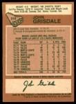1978 O-Pee-Chee #318  John Grisdale  Back Thumbnail
