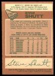 1978 O-Pee-Chee #170  Steve Shutt  Back Thumbnail
