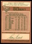 1978 O-Pee-Chee #95  Gilles Gilbert  Back Thumbnail