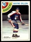 1978 O-Pee-Chee #73  Wayne Dillon  Front Thumbnail