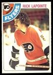 1978 O-Pee-Chee #322  Rick Lapointe  Front Thumbnail