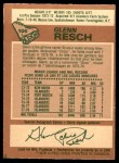 1978 O-Pee-Chee #105  Glenn Resch  Back Thumbnail