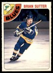 1978 O-Pee-Chee #319  Brian Sutter  Front Thumbnail