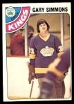 1978 O-Pee-Chee #385  Gary Simmons  Front Thumbnail