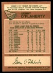 1978 O-Pee-Chee #365  Gerry O'Flaherty  Back Thumbnail