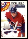 1978 O-Pee-Chee #227  Rejean Houle  Front Thumbnail