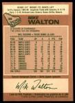 1978 O-Pee-Chee #38  Mike Walton  Back Thumbnail