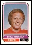 1975 O-Pee-Chee WHA #22  Bruce MacGregor  Front Thumbnail