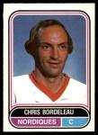 1975 O-Pee-Chee WHA #116  Chris Bordeleau  Front Thumbnail