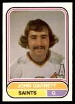 1975 O-Pee-Chee WHA #12  John Garrett  Front Thumbnail