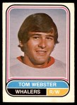 1975 O-Pee-Chee WHA #95  Tom Webster  Front Thumbnail