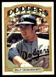 1972 Topps #578  Billy Grabarkewitz  Front Thumbnail