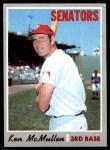1970 Topps #420  Ken McMullen  Front Thumbnail