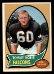 1970 Topps #40  Tommy Nobis  Front Thumbnail