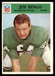 1966 Philadelphia #141  Jim Ringo  Front Thumbnail