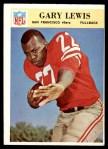 1966 Philadelphia #178  Gary Lewis  Front Thumbnail