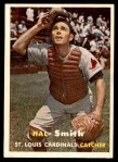 1957 Topps #111  Hal R. Smith  Front Thumbnail
