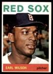 1964 Topps #503  Earl Wilson  Front Thumbnail