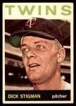 1964 Topps #245  Dick Stigman  Front Thumbnail