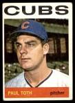 1964 Topps #309 COR Paul Toth  Front Thumbnail